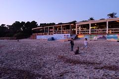 Salinas Ibiza (LorenzoGiunchi) Tags: sky sea people beach ibiza