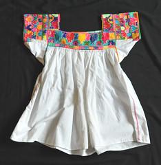 Mexican Blouse Otomi Puebla Textiles (Teyacapan) Tags: otomi blusa blouses mexico puebla sanpablito embroidered textiles ropa clothing