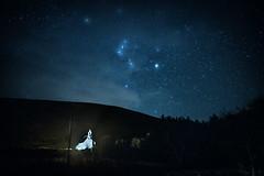 Slievemore (guillaumejulien35) Tags: irlande achill achillisland night stars sky mountain ireland slievemore dugort silver strand orion constellation