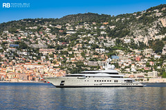 Pelorus - 115m - Lurssen (Raphaël Belly Photography) Tags: rb raphaël raphael belly photographie photography yacht boat bateau superyacht my yachts ship ships vessel vessels sea motor mer m meters meter pelorus lurssen 115m 115 white blanc bianco crème beige imo 8977273 mmsi 319029200