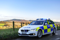 NK19 ESF (S11 AUN) Tags: cleveland police bmw 330d 3series touring anpr traffic car roads policing rpu 999 emergency vehicle nk19esf