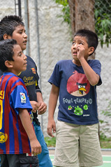 fowl tempered game face (Pejasar) Tags: antigua guatemala colorful boy portrait boys game interesting soccer