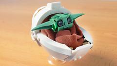 Lego Baby Yoda from the Mandalorian (hachiroku24) Tags: lego baby yoda star wars mandalorian moc