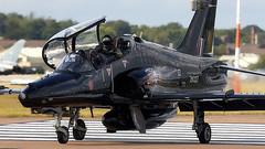 Hawk T2 (Bernie Condon) Tags: bae hawk t2 trainer jet raf military royalairforce riat airtattoo tattoo ffd fairford raffairford airfield aircraft plane flying aviation display airshow uk