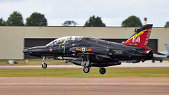 Hawk T2 (Bernie Condon) Tags: bae hawk t2 trainer jet raf military royalairforce riat airtattoo tattoo ffd fairford raffairford airfield aircraft plane flying aviation display airshow uk
