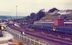 Photo of 20191 & 45043 The King's Own Royal Border Regiment, Buxton 27.6.84
