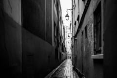 Passage Briare, Paris (Guillaume Birraux) Tags: paris france street rue passage streetphotography photoderue noiretblanc blackandwhite secret fuji xpro noir blanc white black