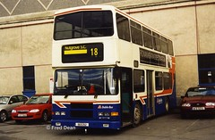 Dublin Bus RA252 (95D252). (Fred Dean Jnr) Tags: busathacliath bus dbrook dublin dublinbus dublinbusbluecreamlivery donnybrook dublinbusdonnybrookgarage ra252 95d252 volvo olympian alexander rh donnybrookgaragedublin january2003 n931rgd