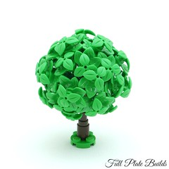 Microtree (1 of 7) (Emil Lidé) Tags: lego moc microscale tree