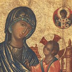 20e Итало-Византийский мастер. Пантонасса, XIII в. Фрагмент