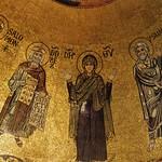 17 Мозаика алтарного купола Сан-Марко Оранта с пророками