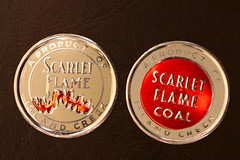 Island Creek Scarlet Flame Coal (fregettat) Tags: coal coaladvertising coalmining coalsales scattertag kenallencollection