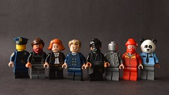 Tulsa PD c. 2019 (th_squirrel) Tags: lego dc comics watchmen hbo tv pirate jenny laurie blake judd crawford sister night angela abar looking glass red scare panda police tulsa minifig minifigure minifigs minifigures
