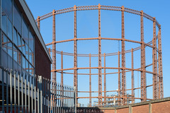 Bethnal Green Gasholders (Marian Place) (James D Evans - Architectural Photographer) Tags: architectural architecturalphotography architecture bethnalgreen bethnalgreengasholders building buildings builtenvironment constructed constructions gasholder london marianplace structure thebuiltenvironment urban