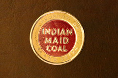 Island Creek Indian Made Coal (fregettat) Tags: coal coaladvertising coalmining coalsales scattertag kenallencollection