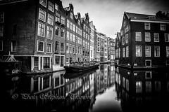 Reflections (steff808) Tags: amsterdam hollandeseptentrionale paysbas netherlands blackandwhite blancoynegro bw biancoenero noiretblanc nikon nikond750 nikon1835
