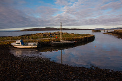 Portencross Harbour (Briantc) Tags: ayrshire northayrshire portencross westkilbride firthofclyde clyde arran reflections scotland harbour littlecumbrae