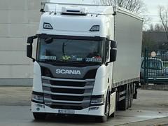 Scania r450 highline from unknown Croatia. (capelleaandenijssel) Tags: zg8100hj hr goran jasna truck trailer lorry camion lkw