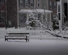 Snow Day by Anis Khan (Maryland DNR) Tags: snow winter bench