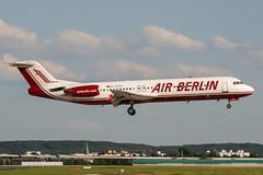 D-AGPH (PlanePixNase) Tags: eddl dus dusseldorf düsseldorf airport aircraft planespotting lohhausen airberlin fokker f100 100