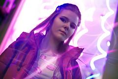 DSC00624 (kolomiichenko.vladyslav) Tags: portrait girl cute night neon city street streetphotography sony sonyalpha sonya6000 vintagelens helios helios44m people