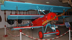 Fokker Dr.I replica in Madrid (J.Comstedt) Tags: aircraft aviation air aeroplane museum airplane flight johnny comstedt museo de aeronautica astronautica madrid spain spania aire spanish fokker dr1 replica ww1 german force