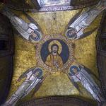 10b Мозаика свода часовни Сан-Дзено в ц.Сан-Просседе, 817-24