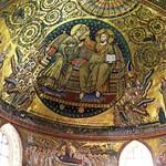 23 Якопо Торрити. Коронование Богоматери, XIII в. С-Мария Маджоре, Рим