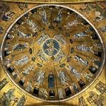 16 Вознесение. Мозаика центрального купола Сан-Марко