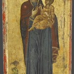 20c Богородица Одигитрия.  Ватопед, Афон XIVв