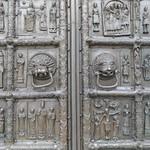 31а Магдебурские  врата Софийского собора.