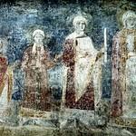 27 Дочери Ярослава Мудрого. Фреска Софийского собора в Киеве