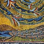 24с Мозаика в конхе абсиды ц.С-Клементе, Фрагмент