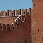 46 Зубцы стен Московского Кремля