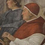 44 Папа Сикст IV (1471-84) Фреска Мелоццо да Форли. Ватиканская Пинакотека