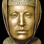 42 Софья Палеолог (1455-1503) Скульптурная реконструкция по черепу С.А. Никитина, 1994.