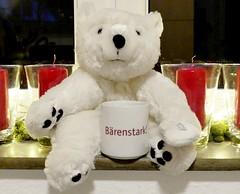 Bärenstark! :-) (BrigitteE1) Tags: mugswithwords bärenstark strongasanox smileonsaturday strongasanbear mugs teddybear