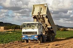 Filling Fields (ekawrecker) Tags: truck lorry tipper benne camion kipper gozo rccl malta maltese 8x4
