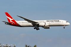 Qantas | VH-ZNF | Boeing 787-9 Dreamliner | JFK | KJFK (Trevor Carl) Tags: aircraft alltypesoftransport newyork qantas airlinersnet vhznf photo unitedstatesofamerica 7879dreamliner 36239 airplane aviation newyorkjohnfkennedy newyorkcity jfk kjfk boeing plane avgeeks transport