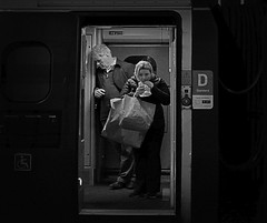 Fast Food Outlet (whosoever2) Tags: uk united kingdom gb great britain england nikon d7100 train railway railroad november 2019 virgin pendolino traveller food mono shopping preston