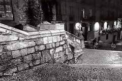 Cambrer (rossendgricasas) Tags: girona catalonia monochrome bw night nikon photography photoshop