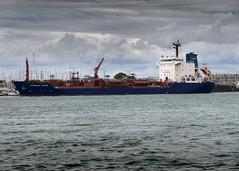 MV Cumbrian Fisher, James Fisher Everard Plc, Portsmouth Harbour, Portsmouth, Hampshire, UK (rmk2112rmk) Tags: mvcumbrianfisher portsmouthharbour portsmouth cumbrianfisher tanker ship boat port cargo transport jfe jamesfishereverard harbour gosport