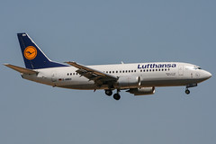 D-ABEH (PlanePixNase) Tags: aircraft airport planespotting pmi lepa palma mallorca lufthansa boeing 737 737300 b733 733