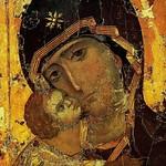 20 Владимирская икона Богородицы, XII в. Византия