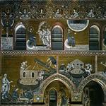 26а Византийские мозаики в Монареале. Сцены из Ветхого Завета 1183-1189