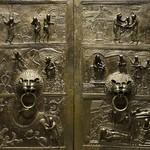 32в Бронзовые врата Епископа Бернварда, фрагмент