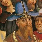 43 Фома Палеолог, отец Софии_ Пинтуриккио_фреска в соборе Сиены