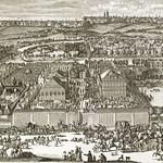 58 Немецкая слободв в Москве. гравюра 17 века.