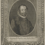 53 Сигизмунд фон Герберштейн (1486-1566), автор первого обширного европейского  труда о Московии