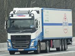 Volvo FH4 globetrotter from Como Trans Belgium. (capelleaandenijssel) Tags: 1gvd713 olma margarine truck trailer lorry camion lkw
